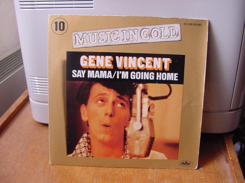 Gene Vincent records Dsc08939