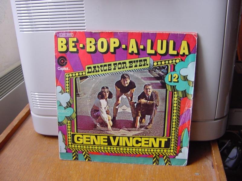 Gene Vincent records Dsc08940
