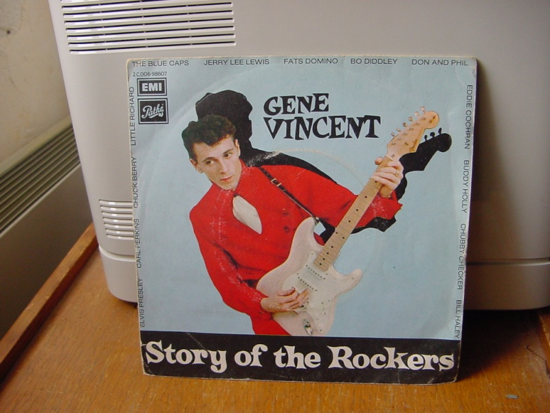 Gene Vincent records Dsc08942