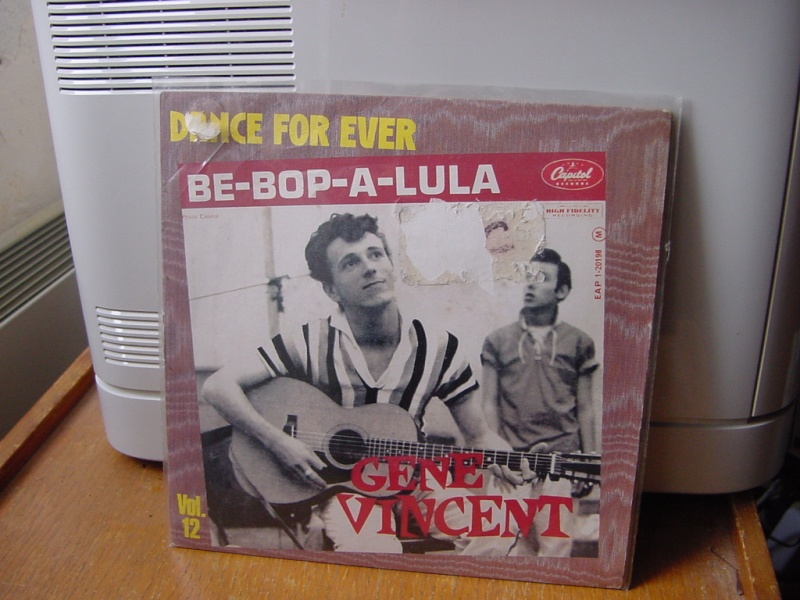 Gene Vincent records Dsc08943