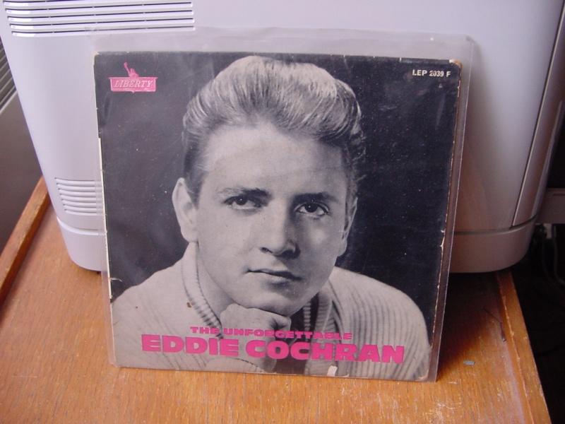 45 tours d'Eddie Cochran Dsc08945