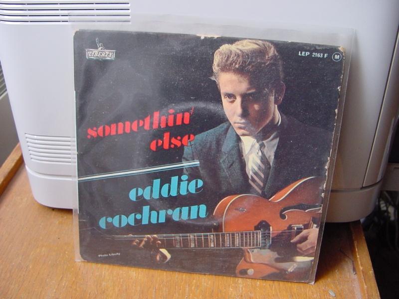 45 tours d'Eddie Cochran Dsc08948
