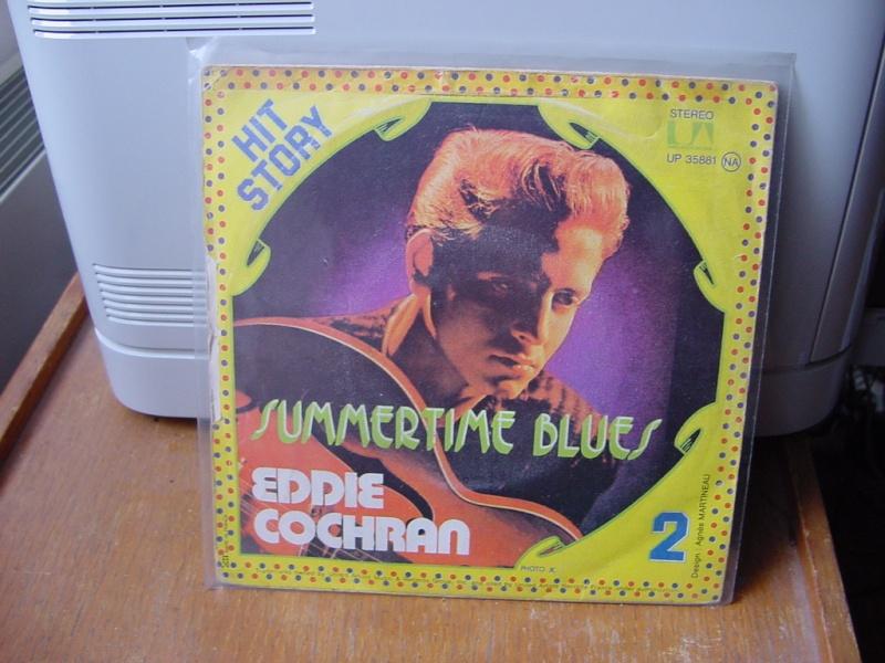 45 tours d'Eddie Cochran Dsc08950
