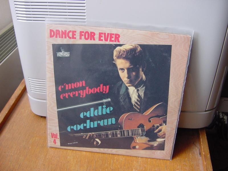 45 tours d'Eddie Cochran Dsc08951