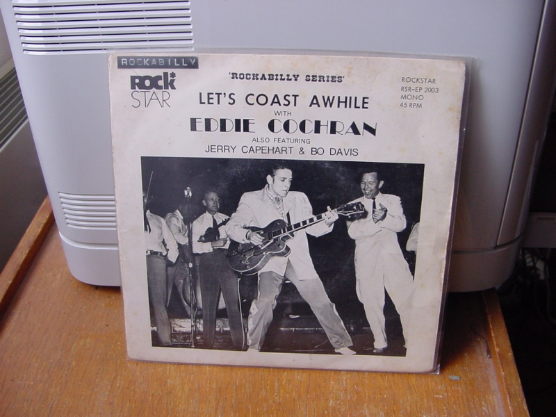 45 tours d'Eddie Cochran Dsc08954