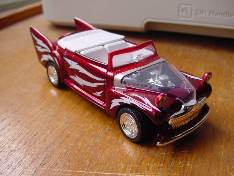 Ford 48 Greased Lightning - Barris pour film Grease 1/43 Motormax Dsc09034