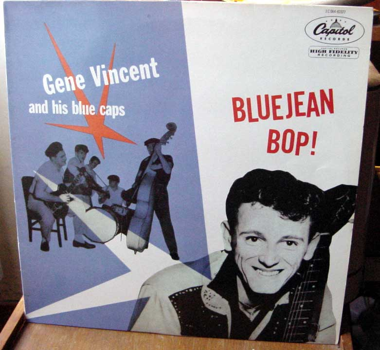 Gene Vincent records Dsc09156