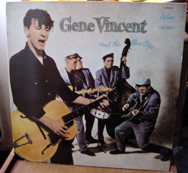 Gene Vincent records Dsc09157