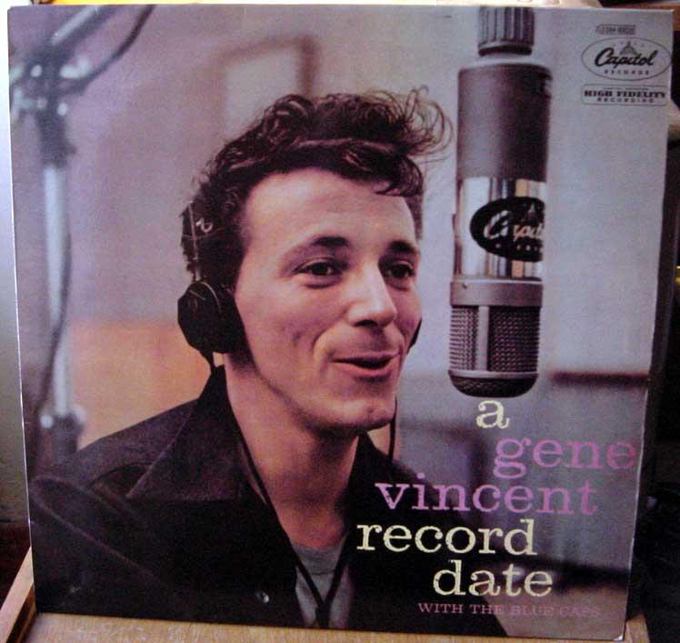 Gene Vincent records Dsc09159