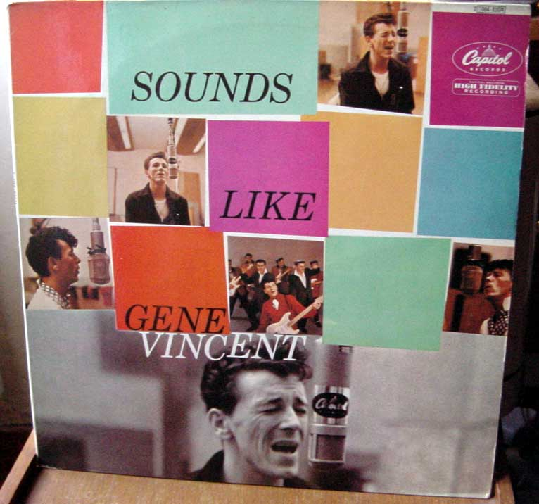 Gene Vincent records Dsc09161