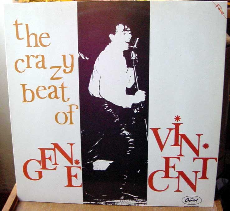 Gene Vincent records Dsc09162