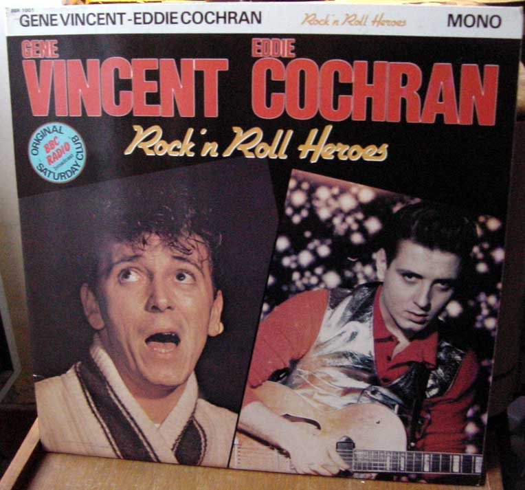 Gene Vincent records Dsc09163