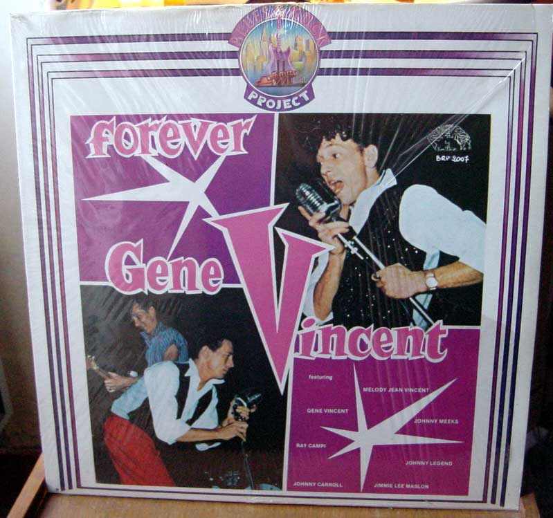 Gene Vincent records Dsc09164