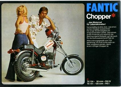 Fantic Chopper Fantic12