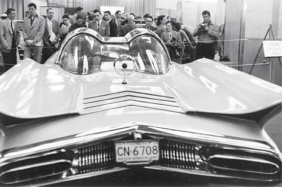 Lincoln Futura 1955 Futura11