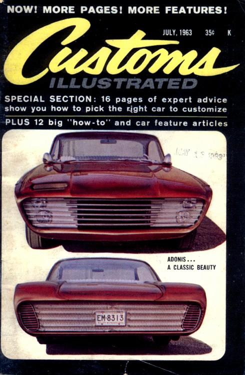 Ford 1960 custom & mild custom G6-vi10