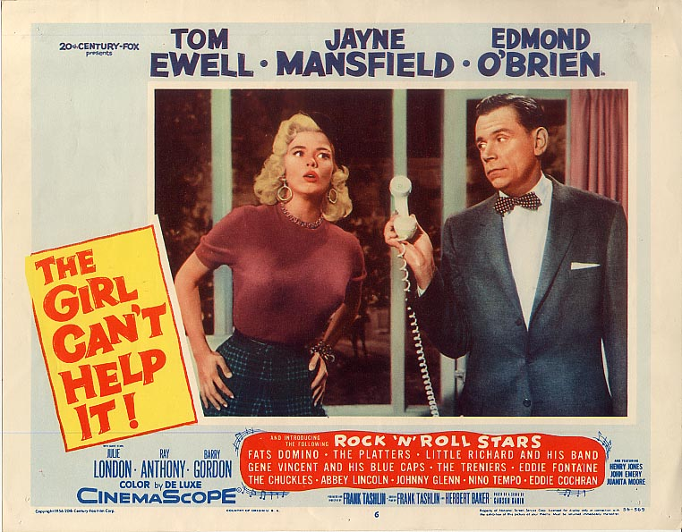 LA BLONDE ET MOI // THE GIRL CAN'T HELP IT - 1956 Girlca11