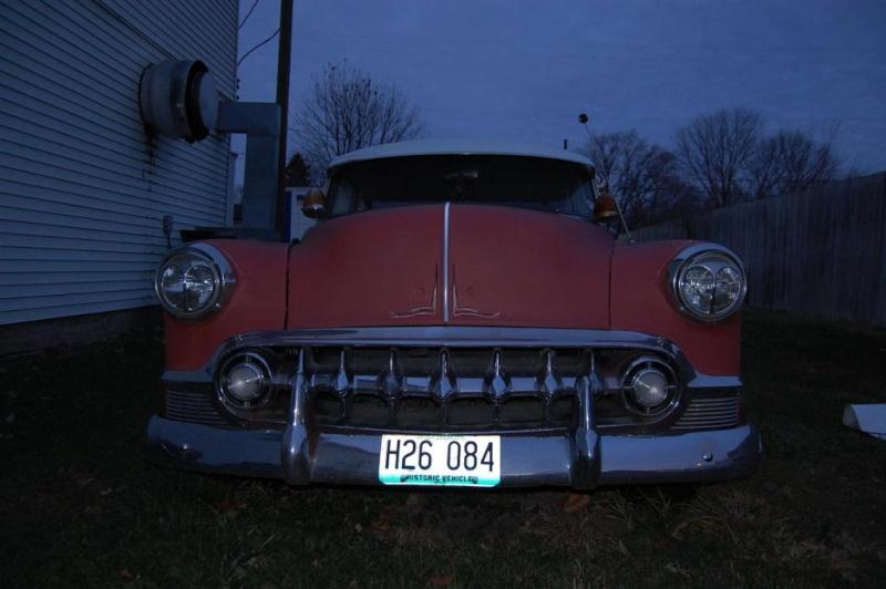 Chevy 1953 - 1954 custom & mild custom galerie J-210