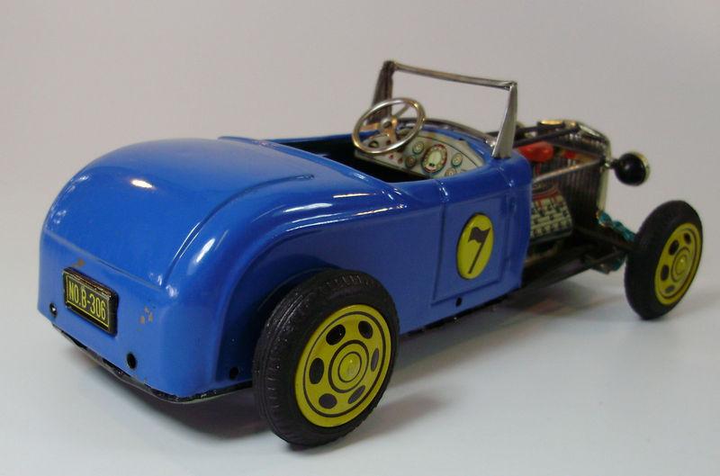 Hot Rod Tôle Bandai - 1950's Kgrhqr23