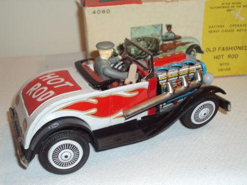 Old Fashioned Hot Rod tôle japan Kgrhqv15