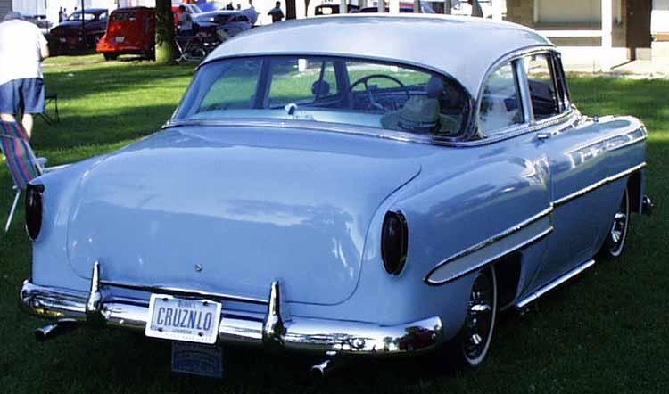 Chevy 1953 - 1954 custom & mild custom galerie Merc0211