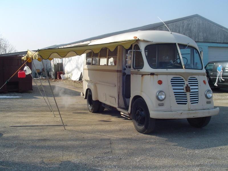 camping car vintage Metro210