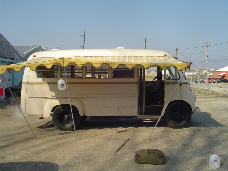 camping car vintage Metro211