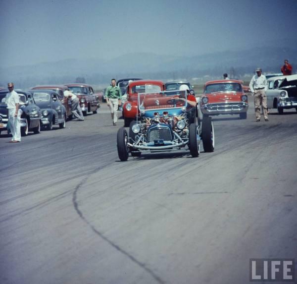 Santa Ana drag race - late '50s  Normgr11