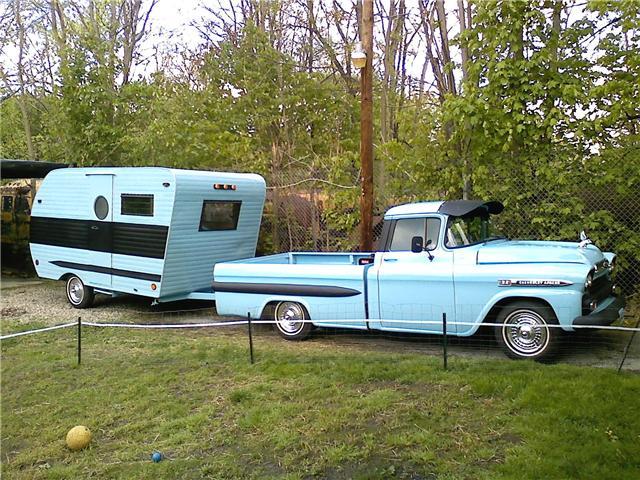 Auto + Caravane Ol20bl10