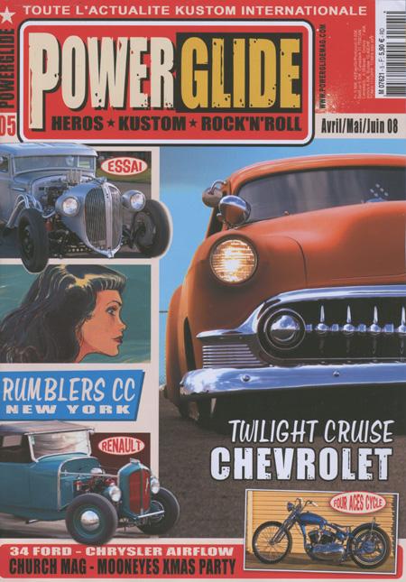 Powerglide magazine Powerg15