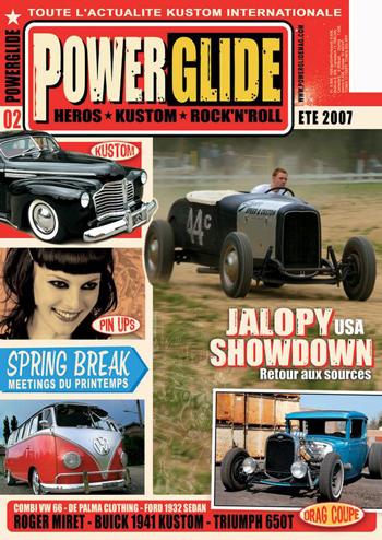 Powerglide magazine Powerg16