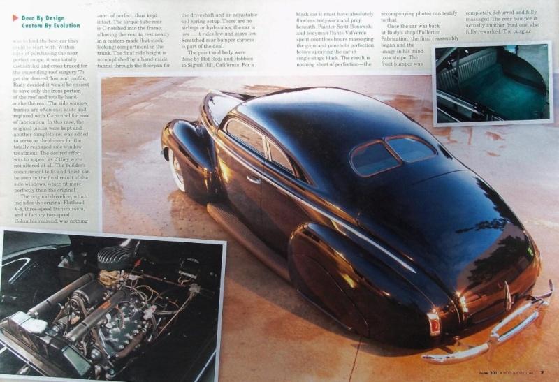 Ford & Mercury 1939 - 40 custom & mild custom Rc210