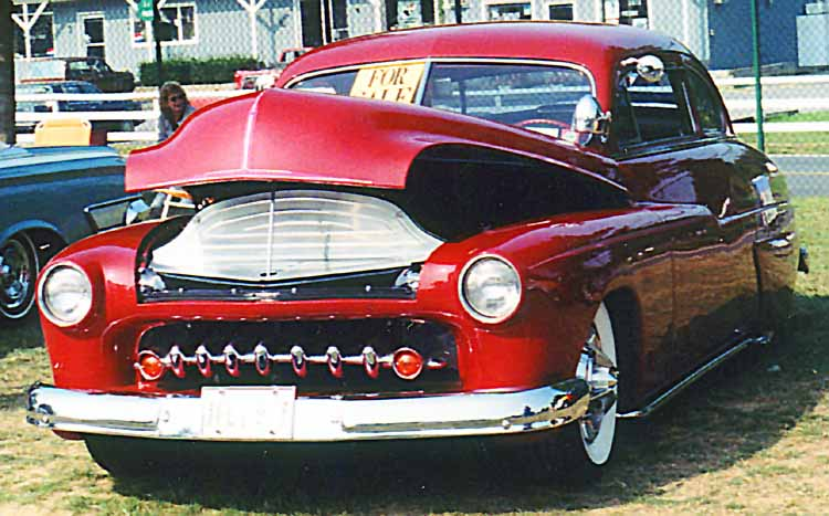 Mercury 1949 - 51  custom & mild custom galerie Rhin1910