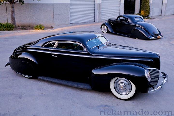 Ford & Mercury 1939 - 40 custom & mild custom Rickam10