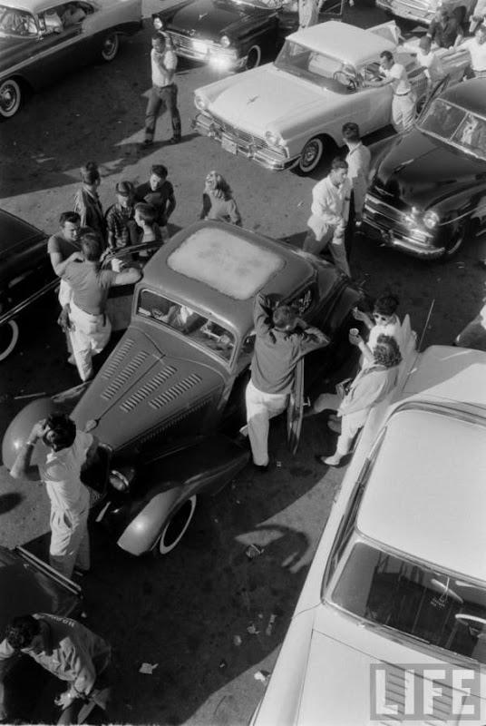 Santa Ana drag race - late '50s  Santaa13