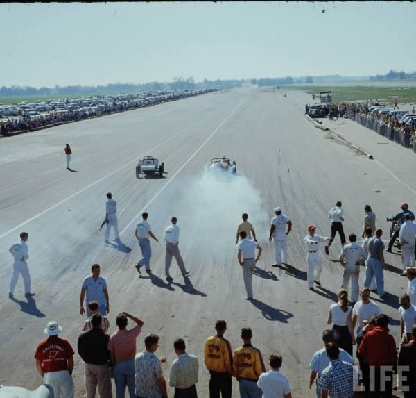 Santa Ana drag race - late '50s  Santaa28