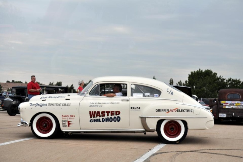 1950's car dragster Wasted10