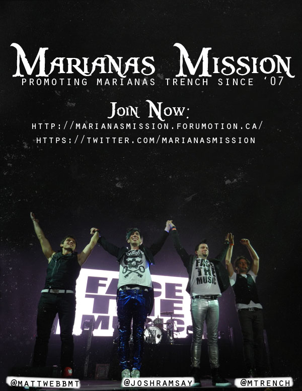 Promote Marianas Mission with Posters! Missio12