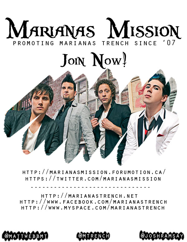 Promote Marianas Mission with Posters! Missio13