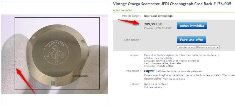 Le prix des pieces sur Ebay Omega11