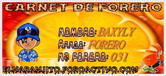 CARNET DE FORERO DE BAXYLY Baxyly10