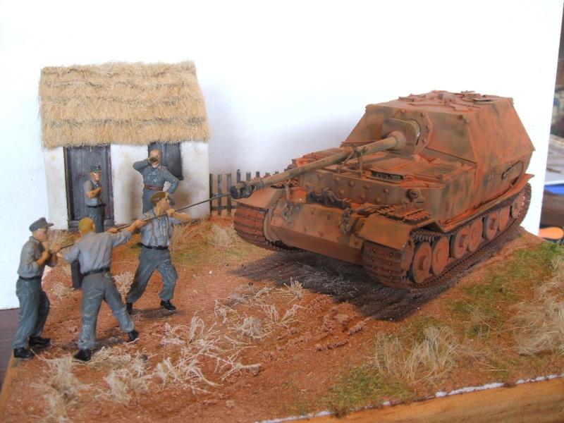 Sd.Kfz. 184 Jagdpanzer Ferdinand [base ITALERI 211 1/35°] + scratch. Dscf6486