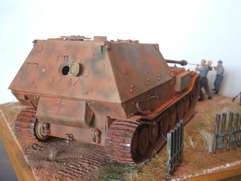 Sd.Kfz. 184 Jagdpanzer Ferdinand [base ITALERI 211 1/35°] + scratch. Dscf6489