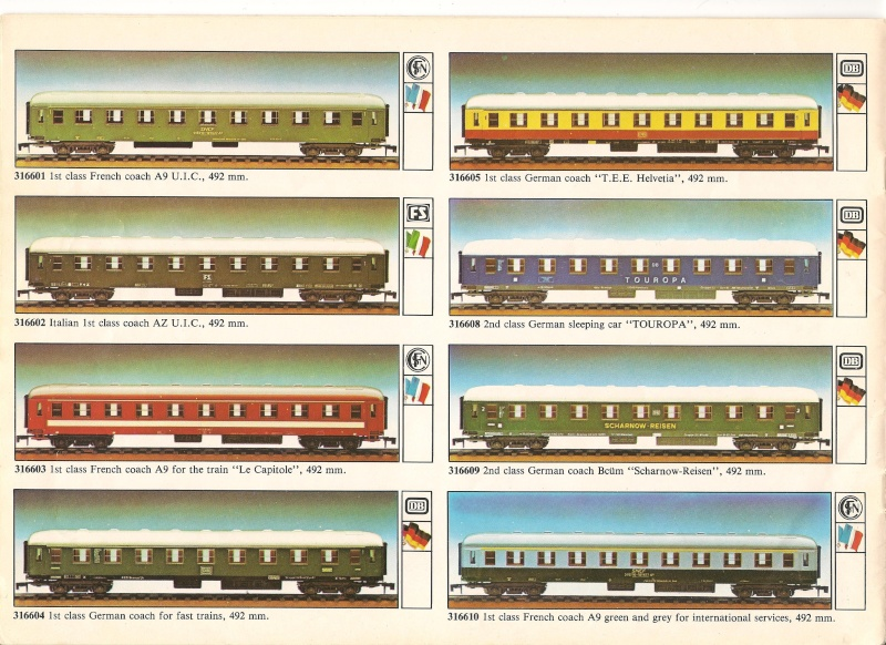 """Le catalogue """"O"""" scale 1979/80 version anglaise 00610"""