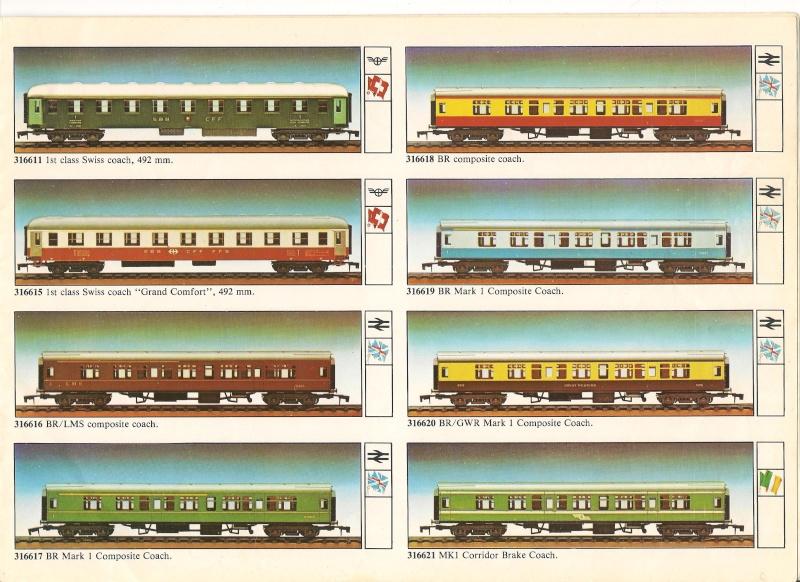 """Le catalogue """"O"""" scale 1979/80 version anglaise 00710"""