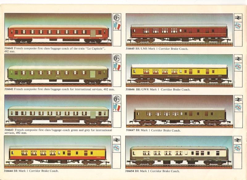 """Le catalogue """"O"""" scale 1979/80 version anglaise 00810"""