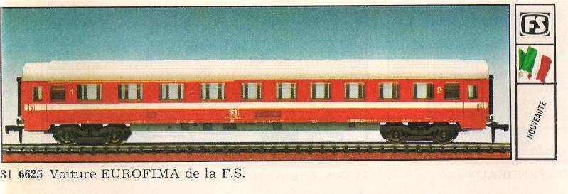 La voiture mixte Eurofima FS annoncée en 1978-79. Eurofi11