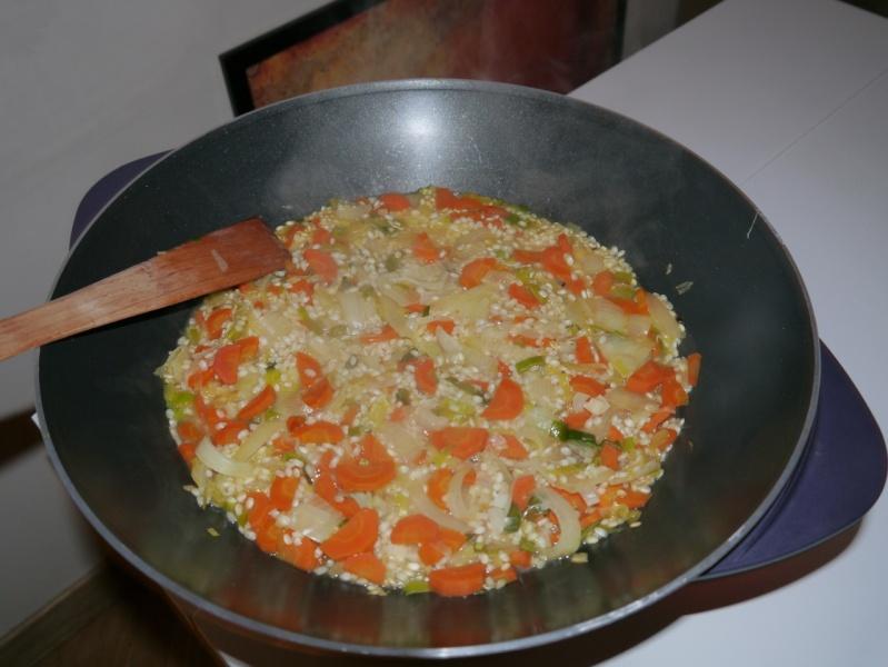 S03 du 19 au 25 novembre 2012 : Risotto Végétarien Morgan10