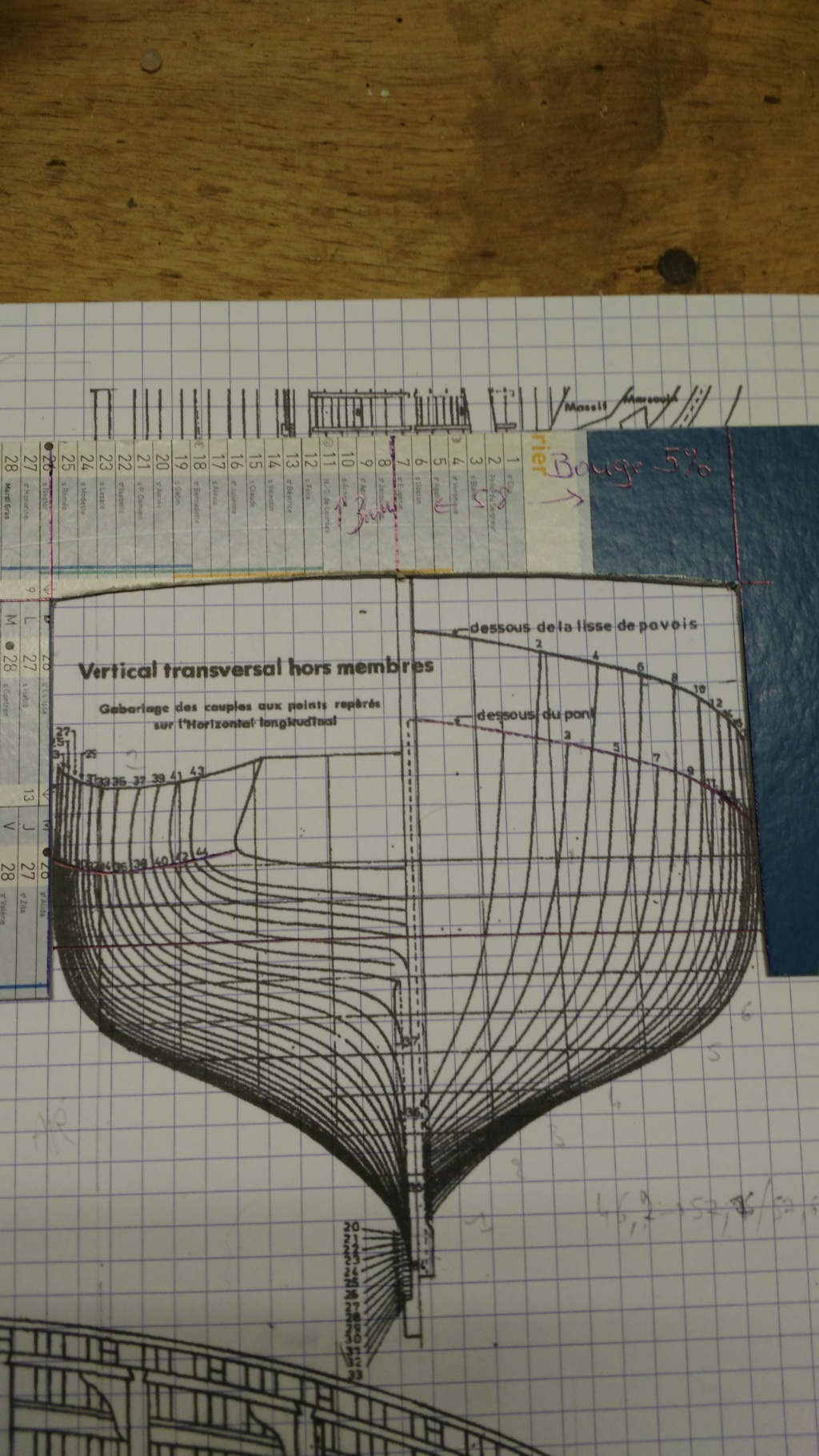 BISQUINE - 1/40 - Sur plan. Bild1412