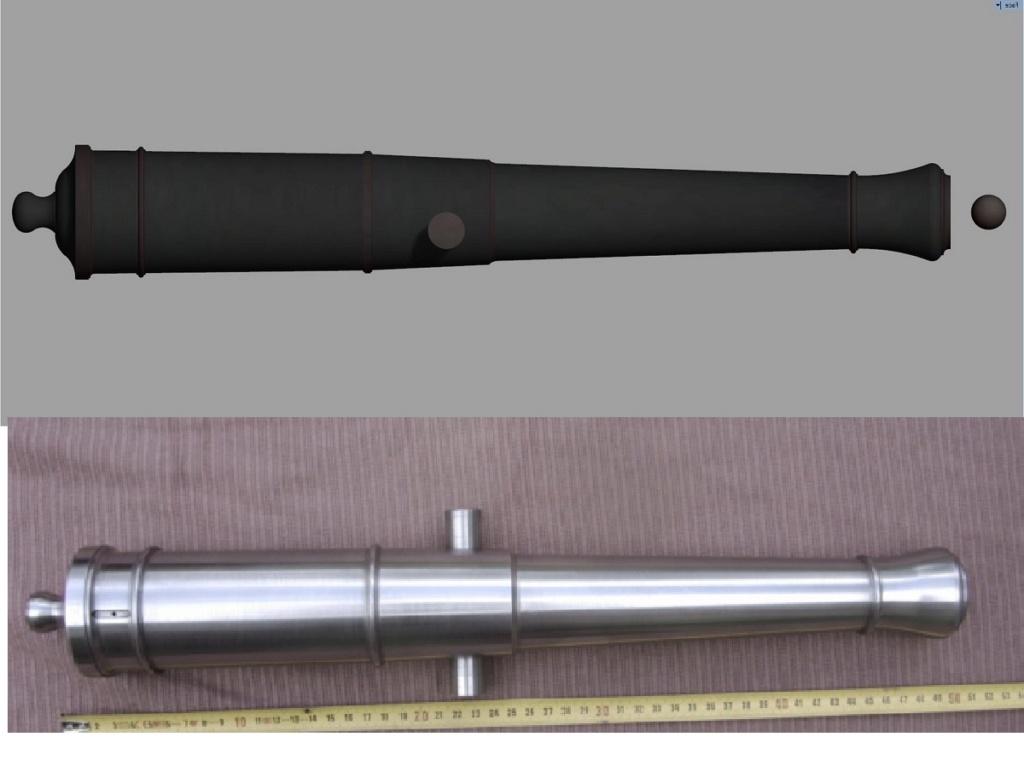 Etude et tracé d'un canon de fer selon Jean Maritz - Période 1733 à 1766 - Page 5 Gv_syn10